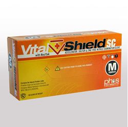 "Picture of VitalShield SC - 9.5"" Short Cuff, 7 Mil"